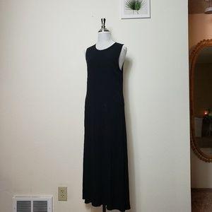 VTG black maxi dress